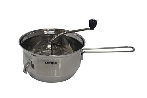 Mirro 50024 Foley Stainless Steel Healthy Food Mill Cookware, 2-Quart, Silver -