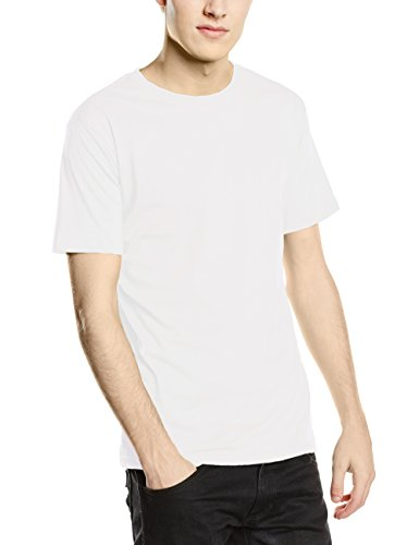 Stedman Apparel Classic-T Fitted/ST2010 T-Shirt, Blanc-Blanc, Medium Homme