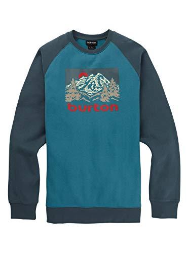 Burton Herren Weir Sweatshirt, Storm Blue, XS