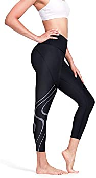 Nicewin Womens High Waisted Leggings With Pockets