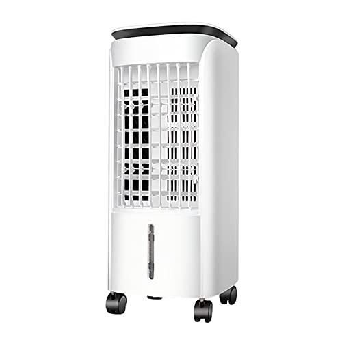 Enfriadores Evaporativos Ventilador De Enfriamiento De Aire Móvil Aire Acondicionado Hogar Dormitorio Silencioso Gran Volumen De Aire Humidificación Con Agua Agregada Refrigeración Aire Caliente