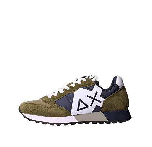 Sun68 Z31111 Sneakers Hombre Verde obscuro 46