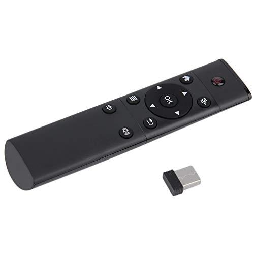 ddgedmms schwarz FM42,4GHz Kabellose Fernbedienung für Android Smart TV Box PC