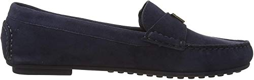 Tommy Hilfiger Damen TH Hardware Mocassin Peeptoe Pumps, Blau (Sport Navy Db9), 42 EU