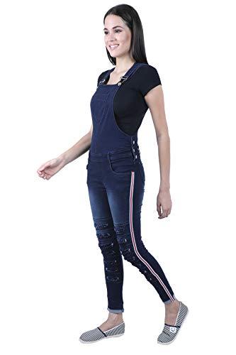 Broadstar Women Skinny Fit Denim Blue Dungaree