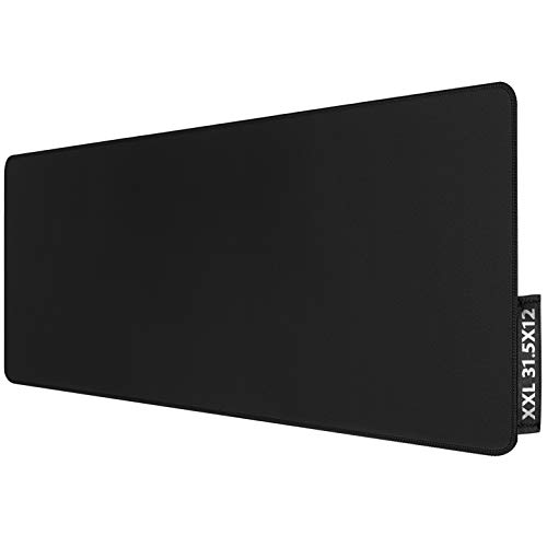 Extended Gaming Mouse Pad with Stitched Edges,...