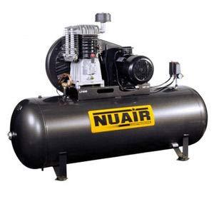 Nuair - Compresseur d'air à piston cylindre, 500L 5,5CV
