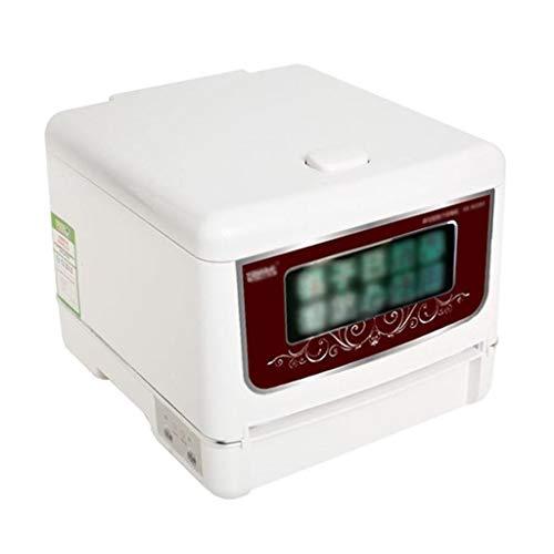 Lave-vaisselle classique Machine De Baguettes Automatiques De Machine De Désinfection De Baguettes De Cabinet De Désinfection (Color : Blanc, Size : 26 * 28 * 22cm)