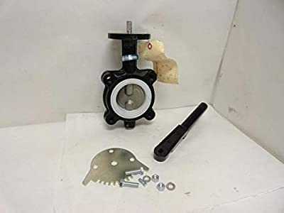 "Milwaukee ML224T Lever Handle Butterfly Valve, Size: 3"" from Milwaukee"