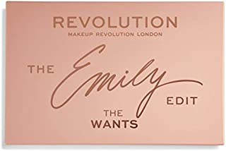 Makeup Revolution The Emily Edit The Wants 24 Pigments Professional Make Up Pigments, Revolution Makeup Eyeshadow Palette ...