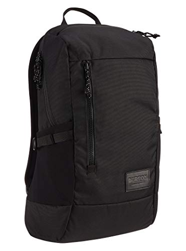 Burton New Prospect 2.0 Backpack with Water Bottle Pockets & Padded Laptop Sleeve, True Black, One Size