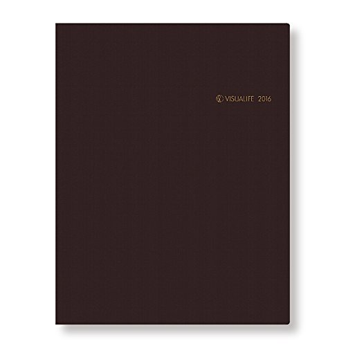 A.P.J. ビジュアライフ 2016年 手帳 マンスリー A5 ブラック M146