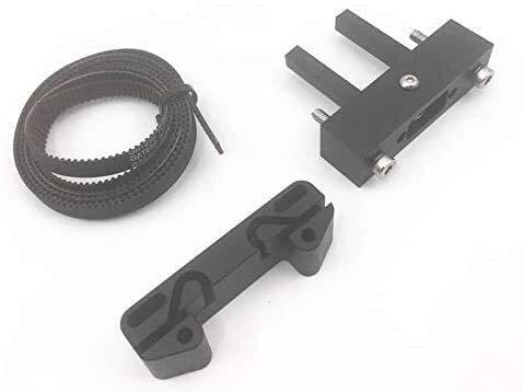 Actualización de aleación de Aluminio para Anet A8 X Axis Belt Tensioner Kit Gates GT2 Timing Belt Idler Hardware Accesorios de impresión 3D
