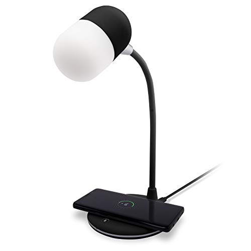 Groov-e Apollo LED-lamp met draadloos opladen en Bluetooth-luidspreker