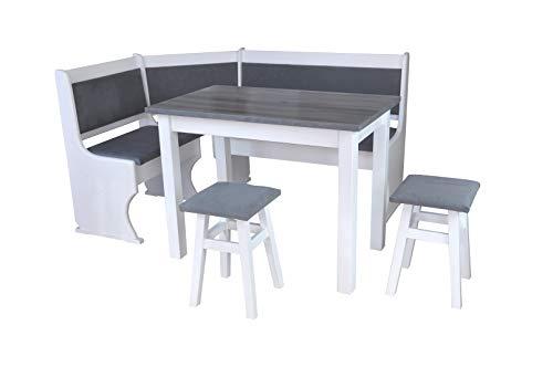 Magnetic Mobel Eckbankgruppe Essgruppe Massivholz Kiefer Neu (Eckbank + Tisch (ohne Hocker))