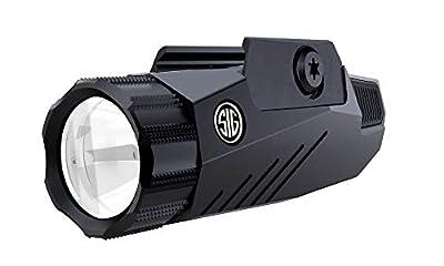 Sig Sauer Foxtrot1 100 200 300 Lumen Rail Mount Graphite Tactical White Light