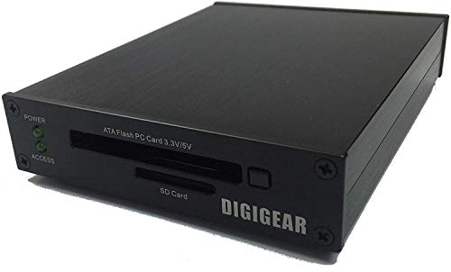 UATASD DIGIGEAR ATA Flash PCMCIA PC Card & SD/SDHC/SDXC to USB 3.0...
