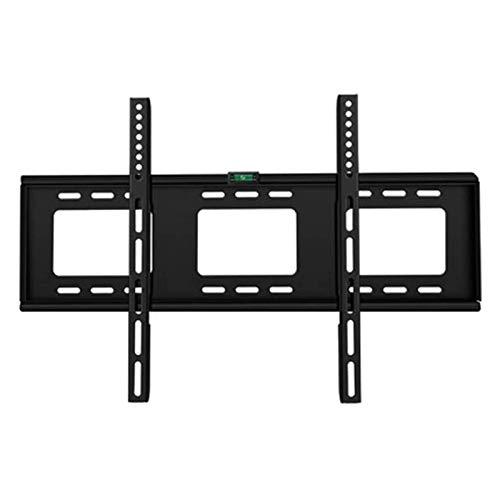 YLB Los soportes de montaje de la pared de TV con el soporte de montaje de TV Ultra Slim Fix con MAX VESA 600x400mm contiene hasta 154 libras, soporte de montaje en pared de TV fijo para la mayoría de