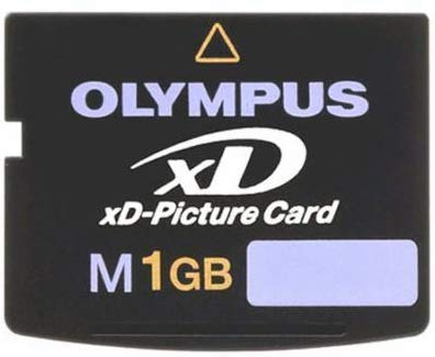 Olympus M 1 GB xDPicture Card Flash Memory Card 202169