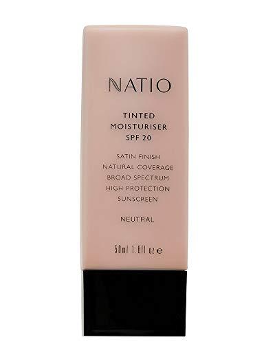 Natio Crème hydratante teintée avec protection solaire SPF 20 Neutre 50 ml