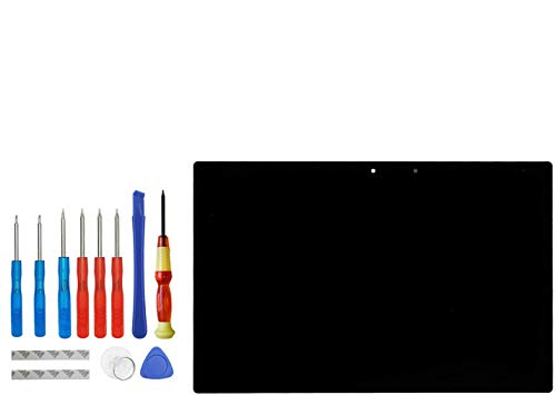 Upplus, display LCD di ricambio compatibile per Sony Xperia Tablet Z2 SGP551/SGP511/SGP512/SGP521/SGP541, schermo LCD touch screen con kit di attrezzi (nero)