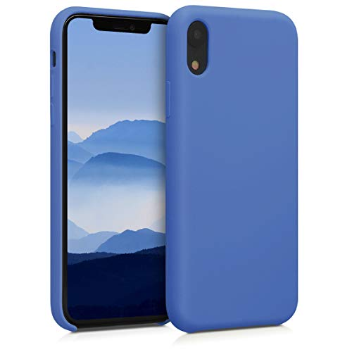 kwmobile Cover Compatibile con Apple iPhone XR - Custodia in Silicone TPU - Back Case Protezione Cellulare Pervinca