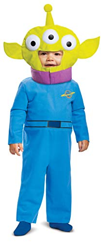 Toy Story Alien Classic Infant Costume, Blue/Green (12-18 Months)