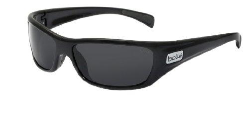 bollé Copperhead Black Shiny - TNS Polarized, Sport Sunglasses, one Size