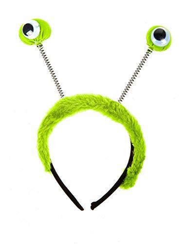 Deiters Haarreif mit Augen grün