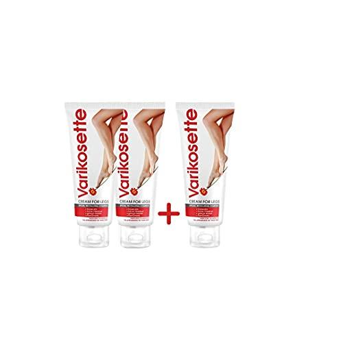 Varikosette – Crème pour les jambes - Recommandée pour améliorer l'apparence des...