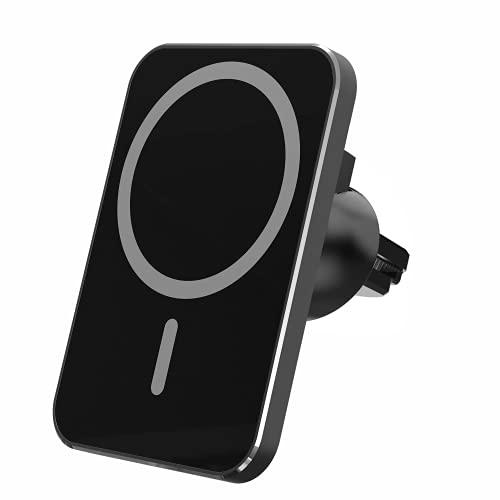 Magnetisches Kabelloses Handyhalterung Auto Ladegerät, kompatibel mit MagSafe Schnellladegerät, Handyhalterung Lüftung kompatibel mit iPhone13/13 Pro/13 mini/13 Pro/12/12 Pro/12 mini/12 Pro Max
