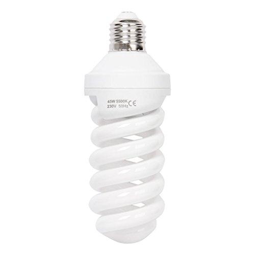 180V-240V 5500 K 45W continu licht fotostudio video fotografie daglicht verlichting lamp lamp E27