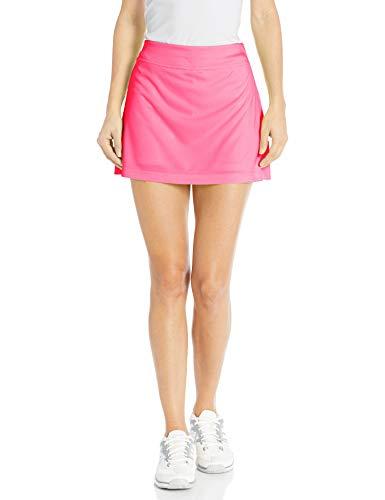 Grand Slam Tennis Women's Core 14' Skorts with Back Pleats, Solid Azalea Pink, M