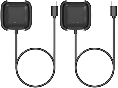 Gionlion USB C Cable Compatible with Fitbit Versa ...
