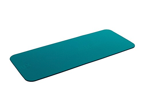 Airex Fitline 180 Workout Exercise Mat for Fitness Gym Floor Yoga Pilates  Aqua 23quot x 72quot x 04quot
