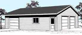 Garage Plans: Oversized Geble Entry Two Sh With Rear Car All items free shipping Manufacturer OFFicial shop