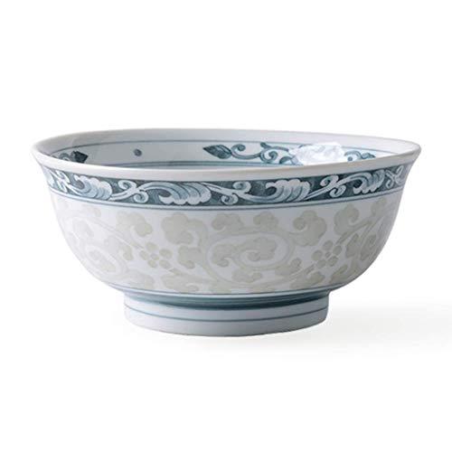 HUAHUA Bowls Cuenco de cerámica tazón cerámicos de uso doméstico ensalada plato de sopa tazón apuesto Ramen tazón de fideos instantáneos tazón de cocina del restaurante Vajilla regalo