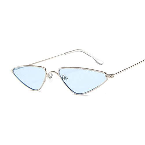 Sunglasses Gafas de Sol de Moda Gafas De Sol De Ojo De Gato para Mujer Rosadas, Lindas Y Sexis, De Diseñador, De Verano,