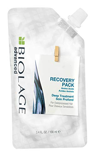 Biolage Advanced Recovery Deep Treatment Pack for Damaged Hair, 100 ml