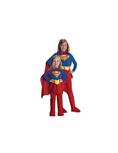 DISBACANAL Disfraz Supergirl niña - -, 8-10 años