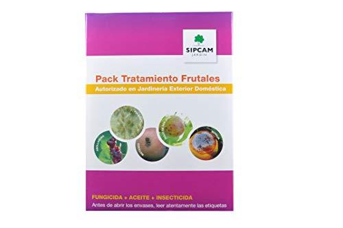 SIPCAM Pack Tratamiento Frutales - Fungicida + Aceite + Insecticida