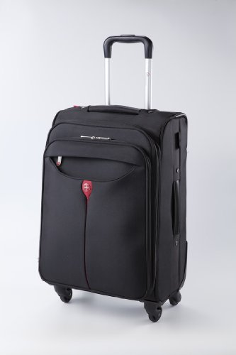 Kross Precision 21 Inch Business Scooter Classic - Lightweight Rolling Case for Laptops / Notebooks / Netbooks - Black, Red