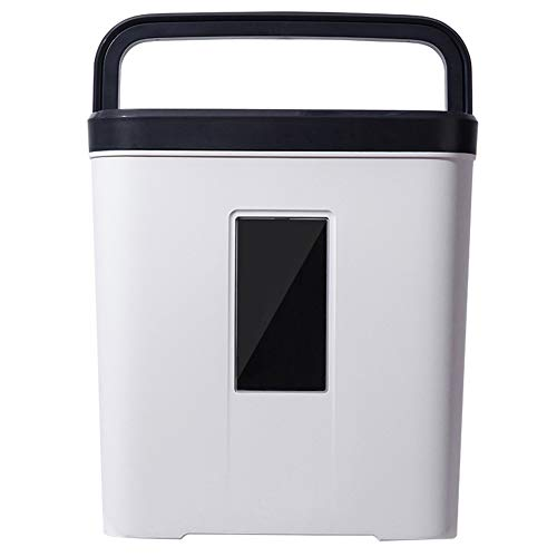 Read About Mini Portable Office Household Shredder, 12l Large Capacity, Document Shredder, Electric ...