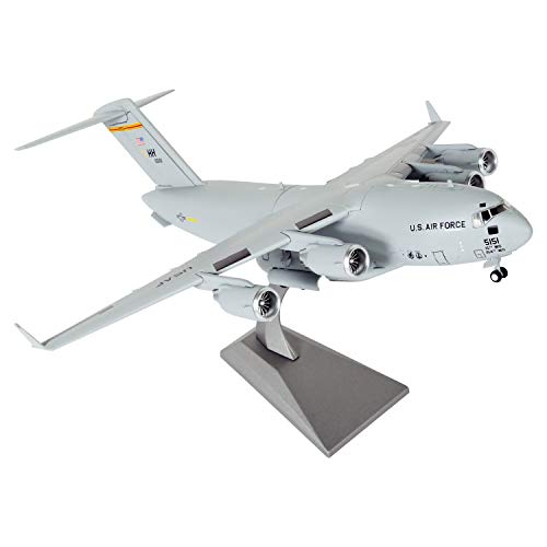 1/200 Scale US Air Force C-17 Global Overlord Strategic Transport Aircraft Alloy Aircraft Attack Plane Metal Fighter Military Model Fairchild Republic Diecast Plane Model for Commemorate Collection o