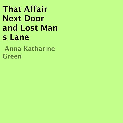 That Affair Next Door and Lost Man's Lane cover art