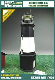 Farol Miniaturas RMH0:045 Ulkokalla Faro Diorama, 9,4 x 6,1 x 7,8 cm