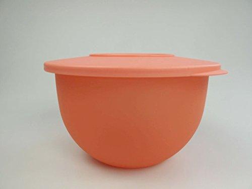 Tupperware Junge Welle Schüssel 2,5 L pastellorange Servierschüssel Servieren 8770, Kunststoff, Pastel Orange, 12.8 x 20 x 22 cm