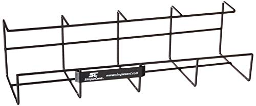 """Wire Tray Desk Cable Organizer - 32"""" Open Slot Raceway to Hold Cables, Cords, or Wires on Desks - Office Cable Management (Pack of 2)"""