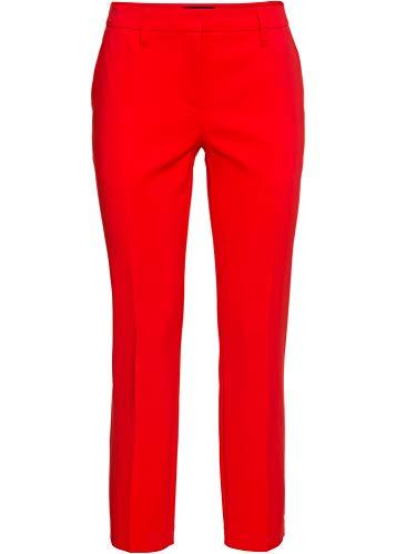 bonprix Elegante Business-Hose in 7/8-Länge Erdbeere 7/8 Bein 34 für Damen