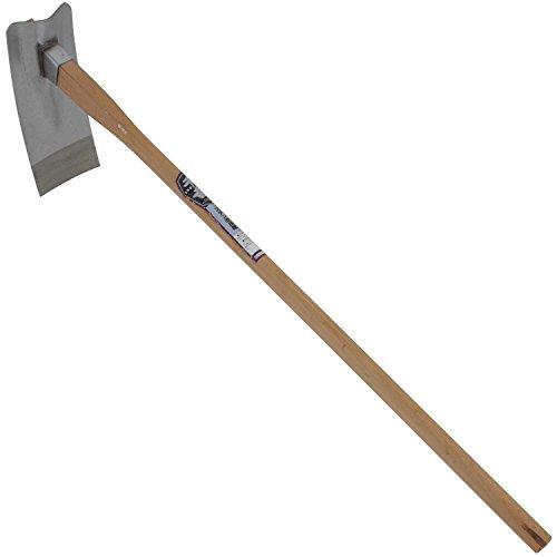 千吉 くわ ステン改良鍬 土づくり作業用 ステンレス製 奥行13×高さ106×幅35cm